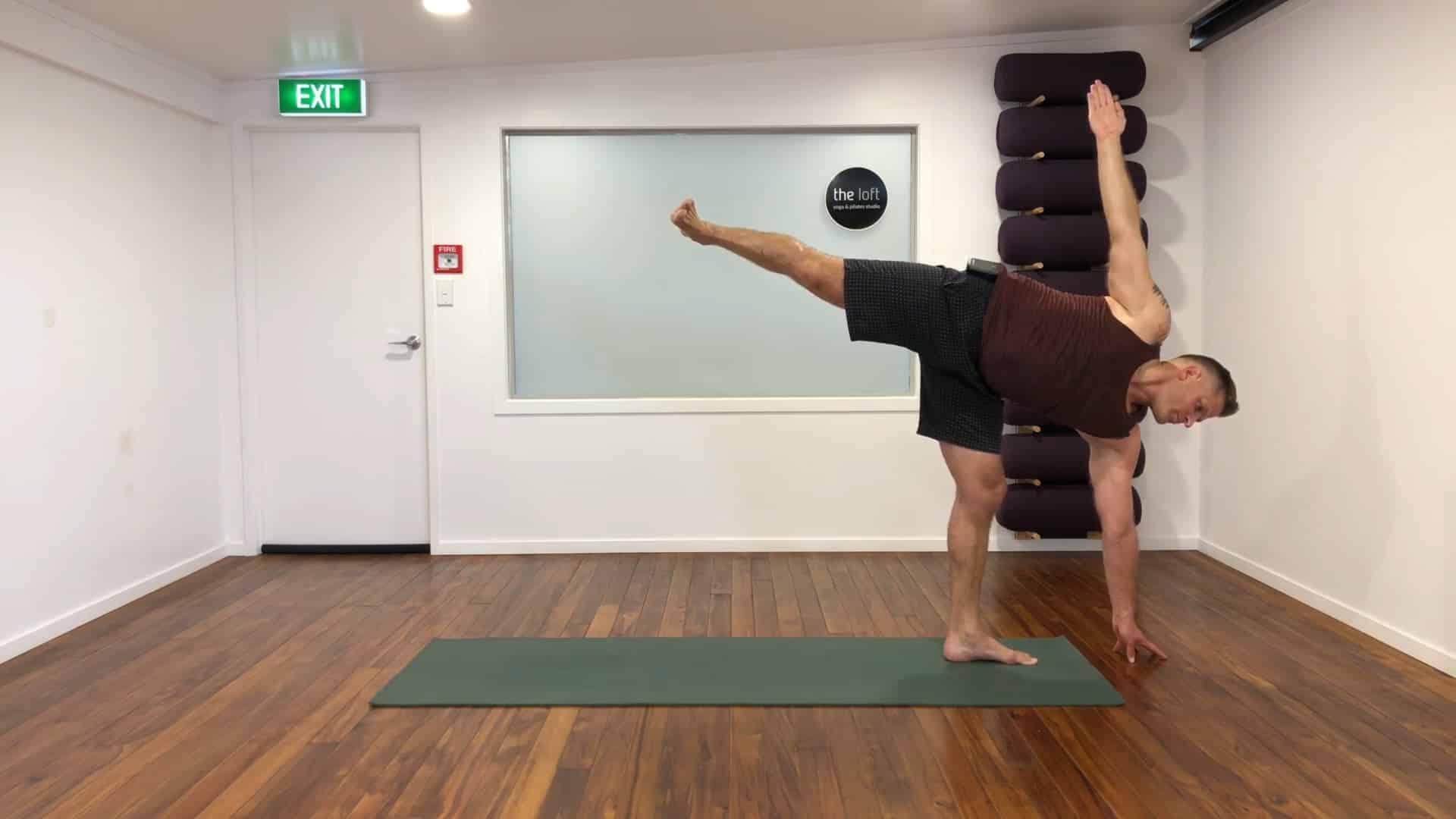 you're a yoga superstar